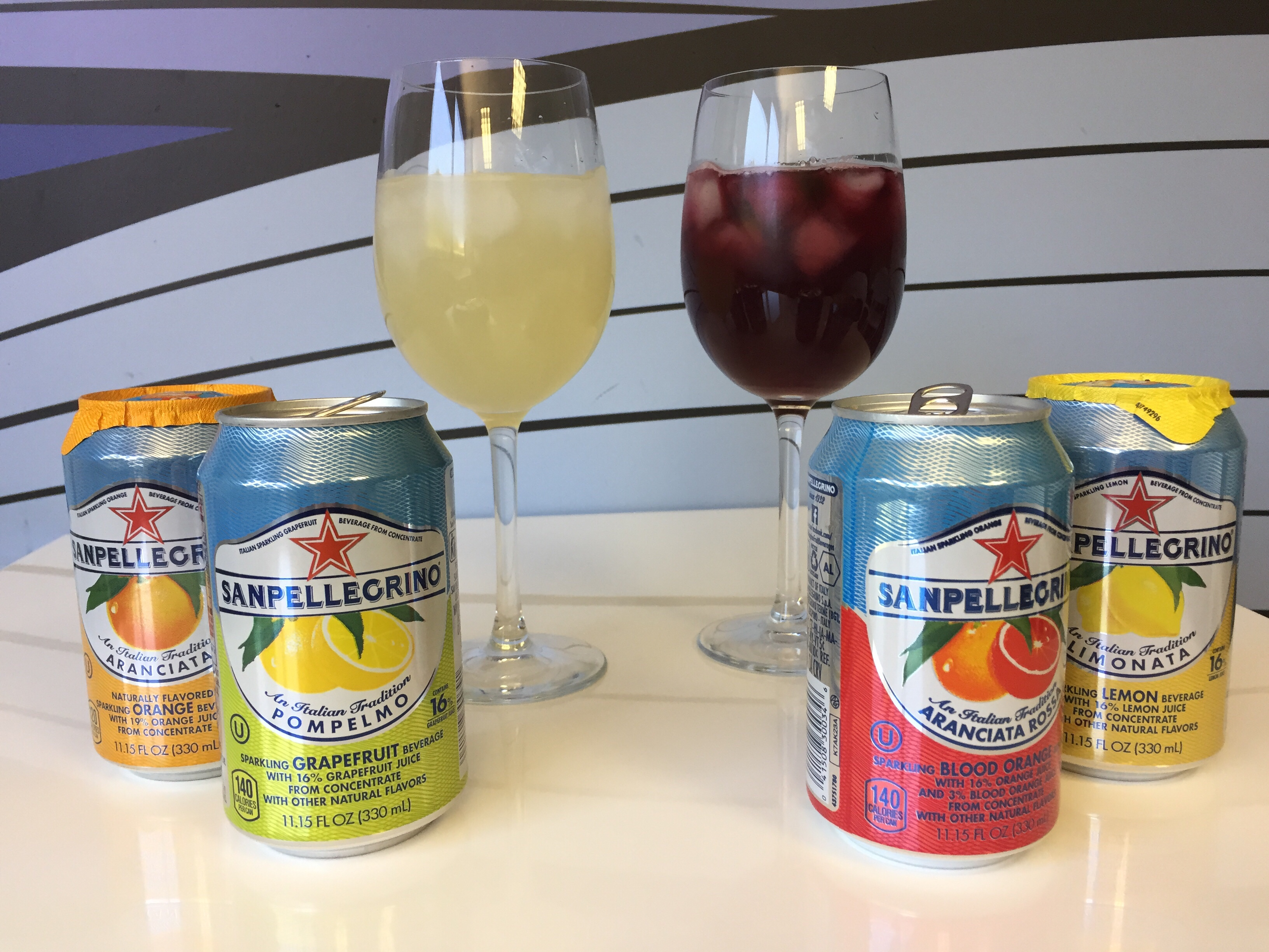Sangria with Sanpellegrino Soda