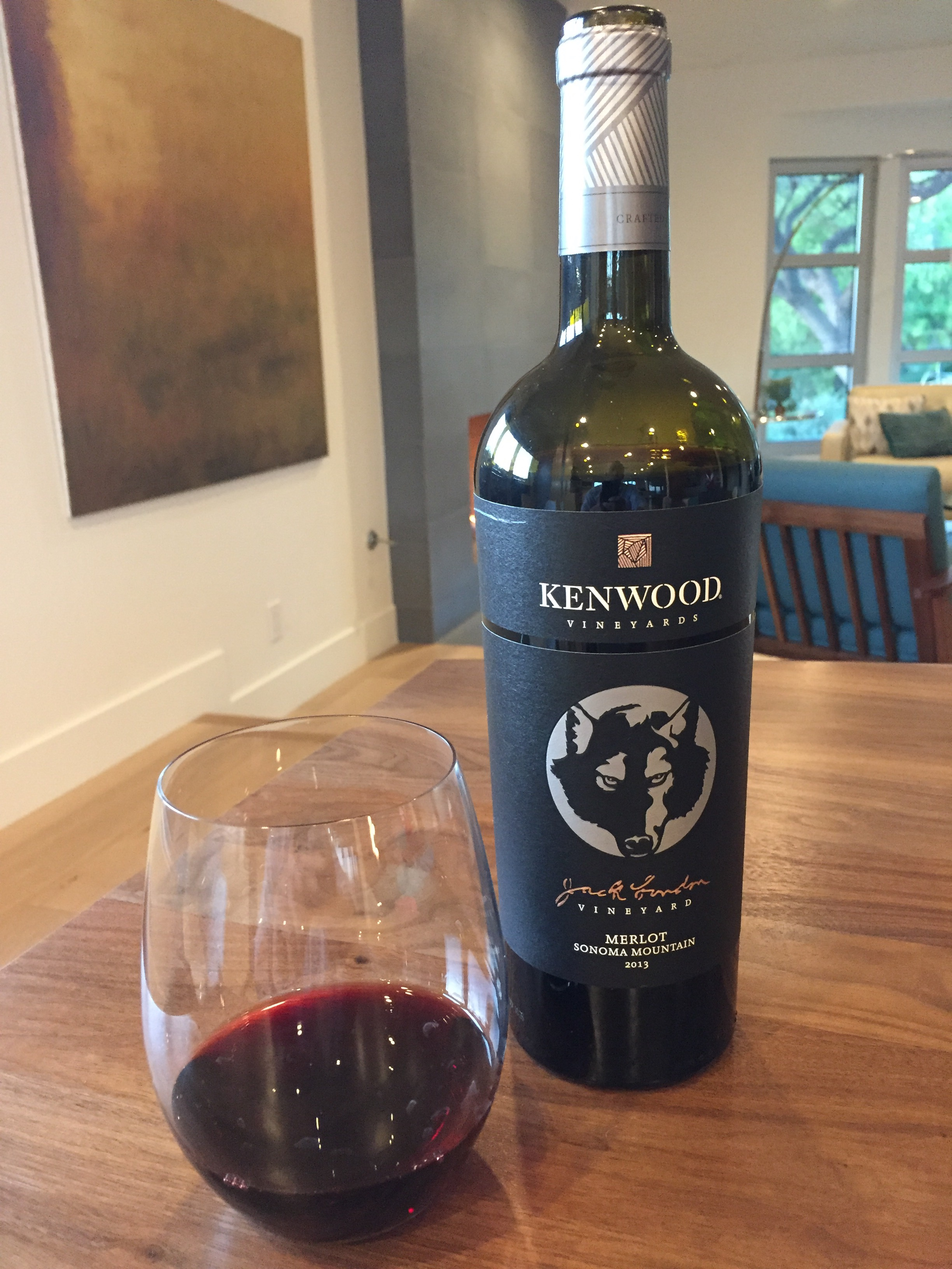 2013 Kenwood Jack London Vineyard Merlot, Sonoma Mountain