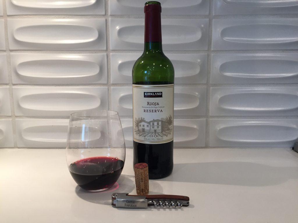 2014 Kirkland Signature Rioja Reserva, Spain