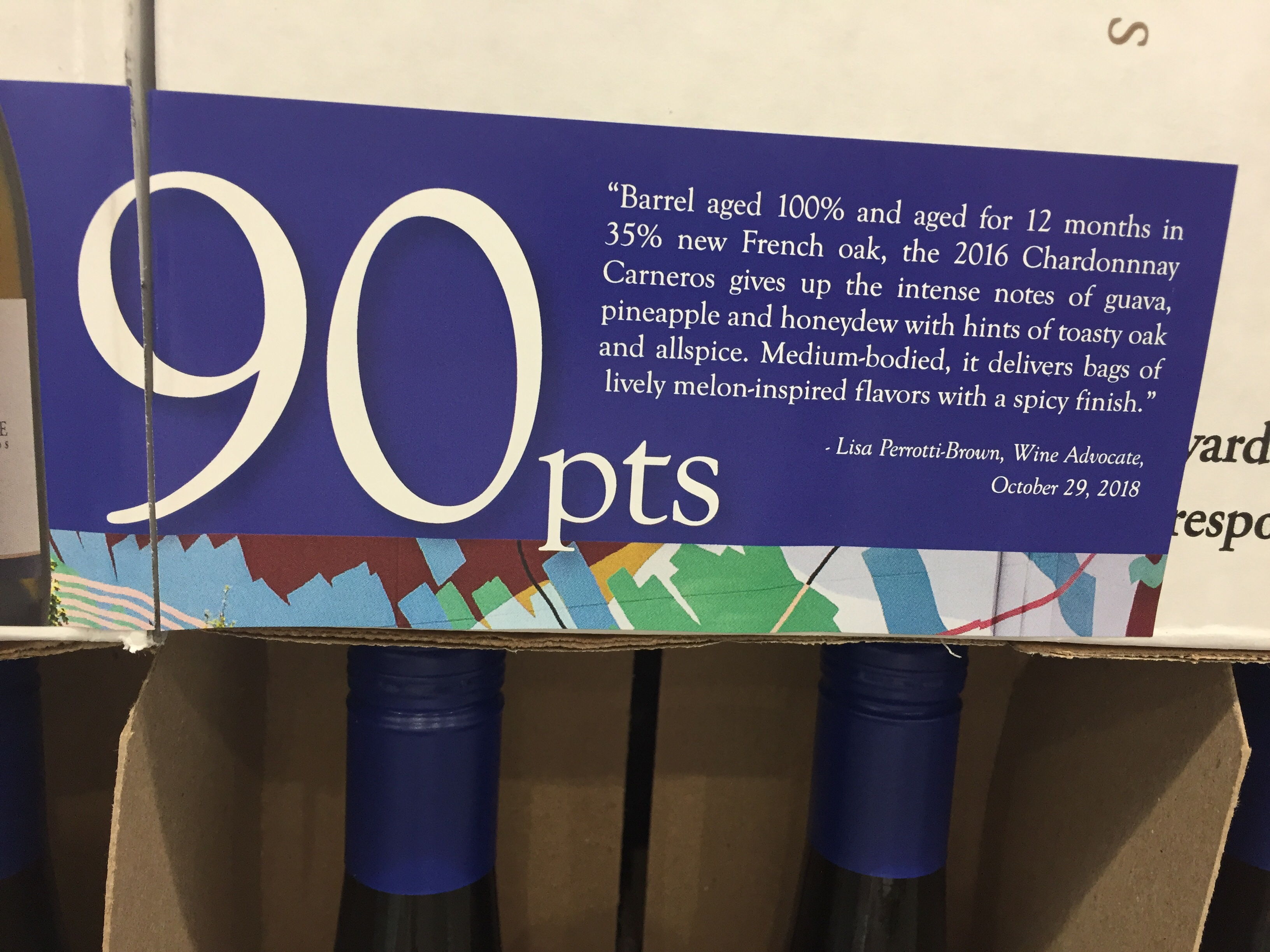 Wine Advocate wine review for Provenance Vineyards 2016 Chardonnay
