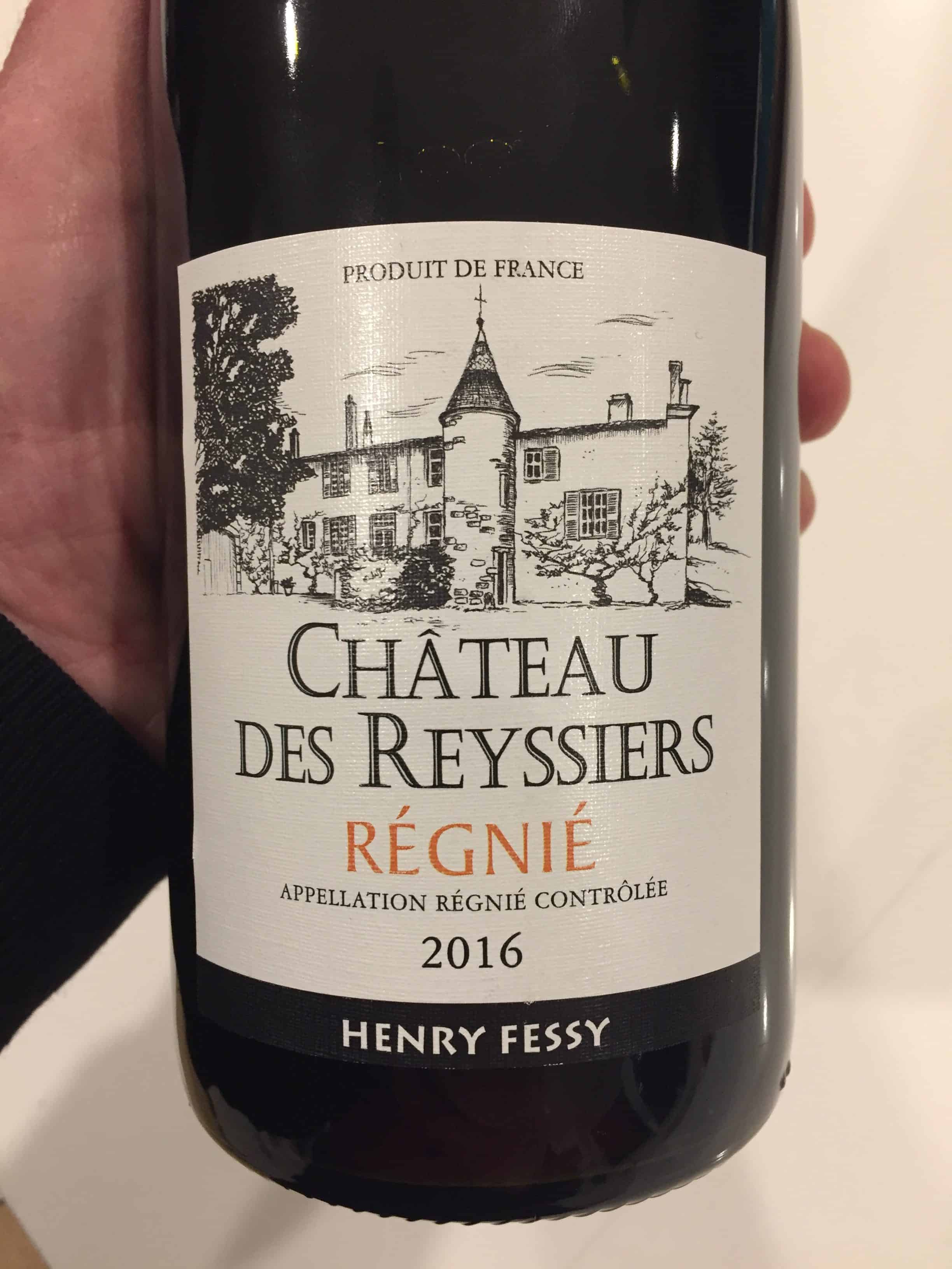Bottle of Chateau Des Reyssiers 2016