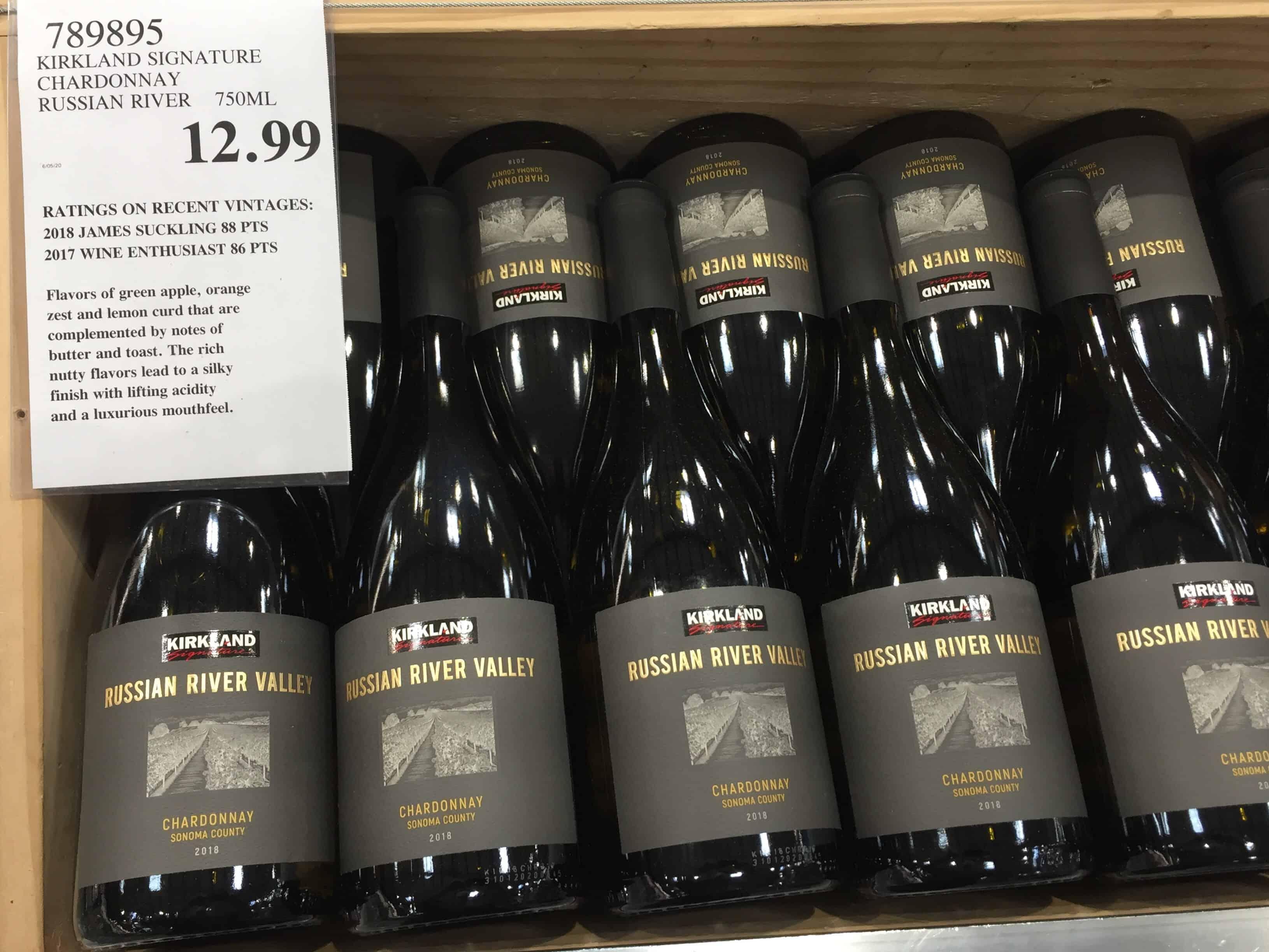 Costco wine bin, chock full o' KS Russian River Valley Chardonnay