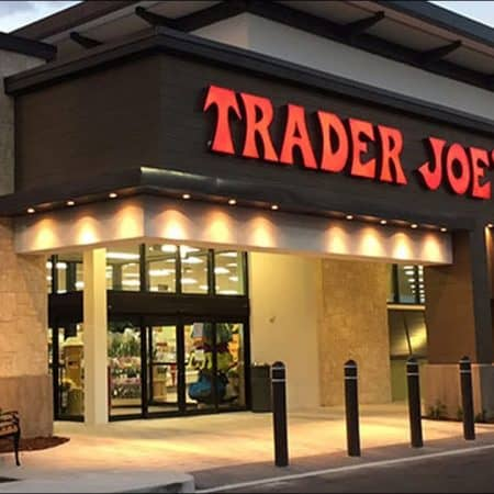 Front of a Trader Joe's store.
