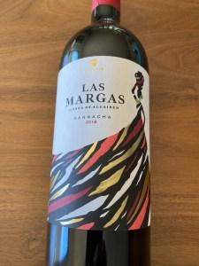 Front label of Las Margas 2018 Garnacha from Trader Joe's