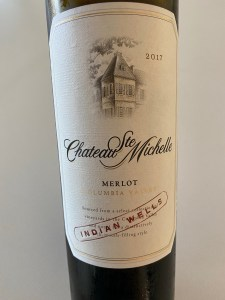 Front label of 2017 Chateau Ste. Michelle, Merlot, Columbia Valley, WA - $8.69 at Costco